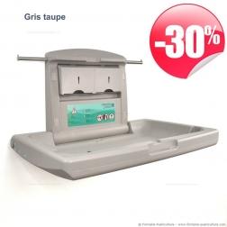 Table à langer professionnelle Kalinoo ERP gris taupe - Remise 30%
