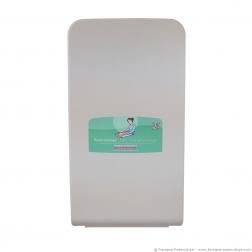 Table a langer professionnelle murale Kalinoo ERP verticale fermée - Vue de face