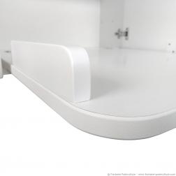 Table à langer murale Kalinoo - Détail du rebord de plan à langer